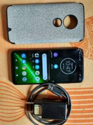 Vendo Moto G7 plus 64 GB trincado