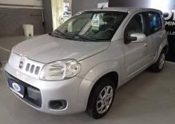 Fiat Uno Vivace 1.0, 4 portas, 2014/2015, Prata, Completo.