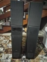 Caixa de Som torre Sony SA-VA3A, anos 80. RARIDADE