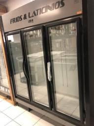 Expositor 3 portas P/ Frios e Laticínios 1.000 litros - Thaís *