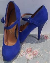 Sapato Alto Azul - Vizzano