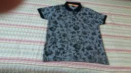 Camisa polo estampada polo , marca BIOGAS.