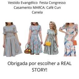 Vestidos Moda Evangélica Original Acima de 3 Peças a Preço de Custo!