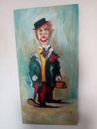 Vendo este quadro antigo pintado a mão