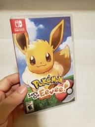Pokemon Let's Go Eevee Nintendo Switch Midia Física