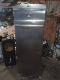 Freezer flex Brastemp inox