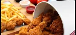 Passo ponto Fast Food restaurante frango frito