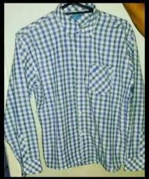 Título do anúncio: Camisa quadriculada masculina infantil
