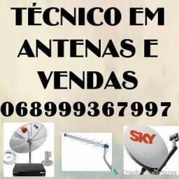 Antena instalador técnico / técnicos