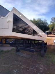 Barco Minas Pontão 8 metros de comprimento