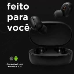 Fone de ouvido Redmi Airdots 2 Xiaomi - Bluetooth 5.0 (Promoção)