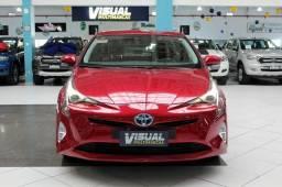 Toyota prius 1.8 hibrido 4 p Automatico cvt 2018 Vermelho