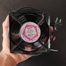 Ventilador Cooler Ventoinha 120x120x38 110/220v Bivolt Grade