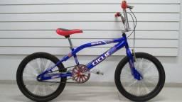 Bicicleta Masculina Adulto Aro 20 Ultra Bike Verde/Branco (Cor desbotada)