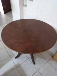 Mesa de jantar redonda - Madeira Maciça