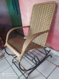 Cadeira de balanço com fibra
