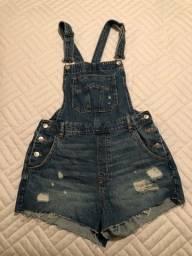 Jardineira jeans H&M