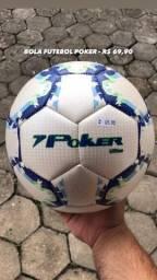 Bola futebol POKER R$ 69,99