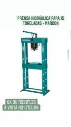 Prensa Hidráulica para 15 toneladas - MARCON
