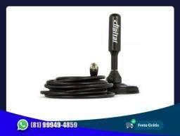 Antena Hd Digital interna e externa cabo com 5 metro