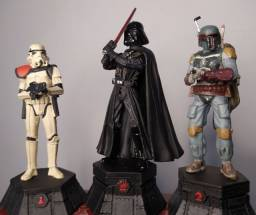 9 Miniaturas Star Wars Planeta Deagostini