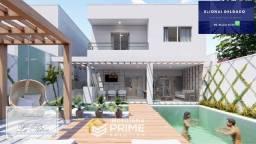E. Casa Duplex Alto Padrão - 3 Suítes - 250m² - Quintas do Calhau
