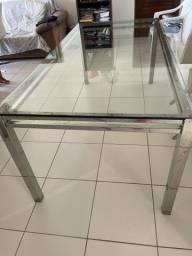 Vendo mesa de inox retangular