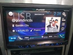 Dvd 2din pionner c/tv várias funções top mixtrax
