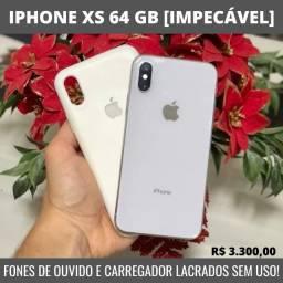 Iphone XS 64 GB [Impecável] Fones de ouvido na caixa sem uso