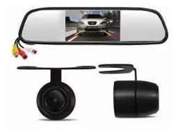 Espelho Retrovisor com câmera de ré Instalado e com garantia