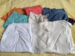 Estopas de malha coloridas ou brancas