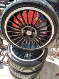 Rodas 17 TSW sem pneus leia anúncio