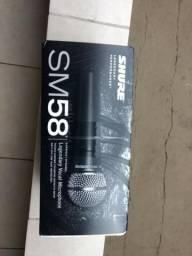 2 Microfones Profissional Shure Sm58-lc Original