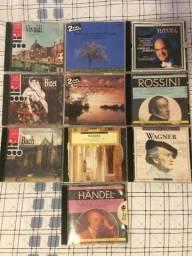 10 cds músicas clássicas, se querer unidade valor 5 reais cada