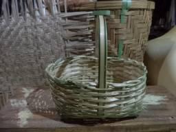 Cestinha de bambú