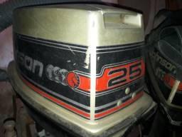 Motor de poupa 2 tempos 25 hp negociável