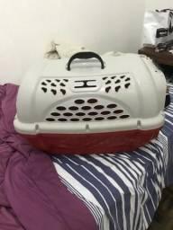 Caixa de transporte para gatos e cachorros