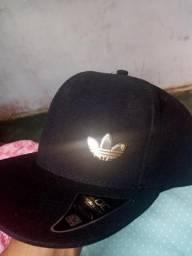 Boné Preto Adidas