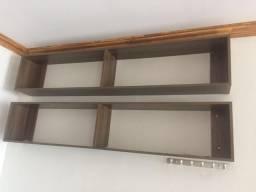 Armário de mdf com portas e Chaves + 2 ninchos mdf