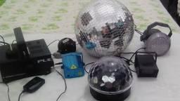 Vende_Se kit de iluminação para Festa