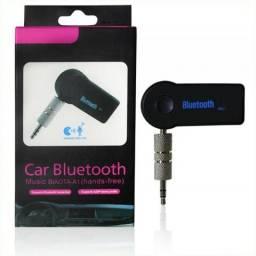Sua caixa de som ou seu carro não tem Bluetooth? Adaptador Bluetooth com saída p2