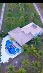 Espetacular mansão na paradisíaca 4ª praia de Morro de São Paulo. Porteira fechada