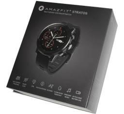 Relógio Amazfit Stratos 2 GPS Corrida e monit. Cardíaco* Produto novo na caixa
