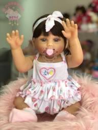 Bebê Reborn silicone realize o Sonho de quem você ama