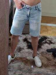 Bermudas jeans da marca lado avesso tamanho 38