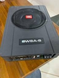 Grave JBL SW8A-S Subwoofer SLIM ATIVO 2 Canais com módulo para 2 Falantes