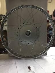 Roda Dianteira completa C100/125 Biz Honda