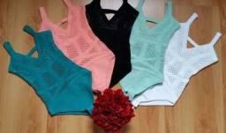 Body tricot verde
