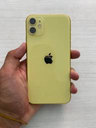 IPhone 11 64GB Amarelo - Garantia Apple