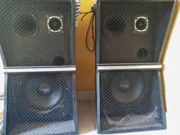 2 Caixas de som passivas
